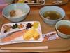 白山室堂の朝食