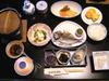 安田屋旅館の朝食