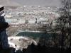 ポタラ宮から見たラサ新市街