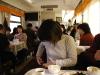 青蔵鉄道の食堂車