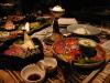 満山荘の夕食