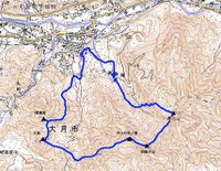 高川山地図