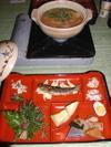 本沢温泉夕食